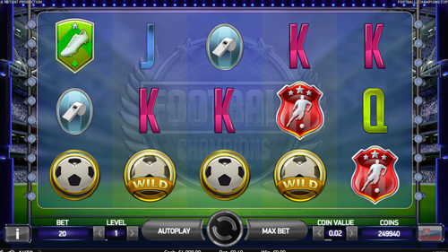 mobile online casino football champions cup